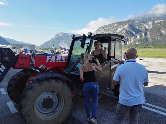 Bellezze locali sul trattore
